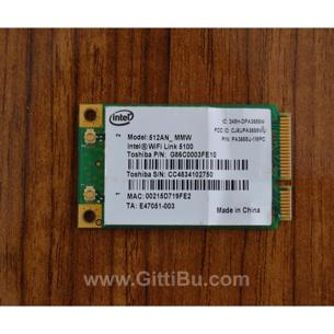 Intel 512An_Mmw Wifi Link 5100 Mini Pcı-E Card